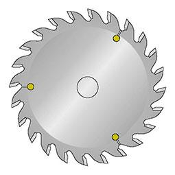 Sawblades for Cutting and Grooving