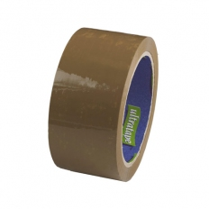 Ultratape 00114840BUSF6 Brown Packing Tape 48mm x 40 Metre Pack of 6