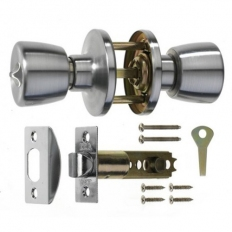 ERA 170-52 Passage Door Knob Set Chrome