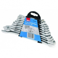 Hilka 17161102 Combination Spanner Set Metric 11 Piece