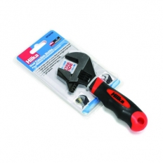 Hilka 18152160 Adjustable Stubby Wrench Reversible Jaw Dual Function
