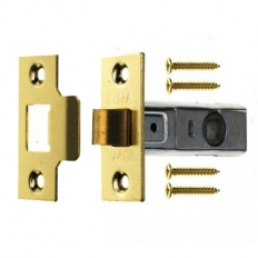 ERA 189-32 Tubular Mortice Latch 75mm Polished Brass