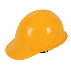 Silverline 306429 Safety Hard Hat Yellow