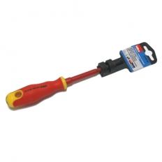 Hilka 33400100 VDE Screwdriver Insulated Soft Grip 4mm x 100mm