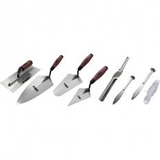 Hilka 66416006 General Purpose Trowel Set 6 Piece Soft Grip