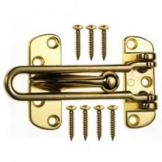 ERA 789-32 Door Restrictor Polished Brass