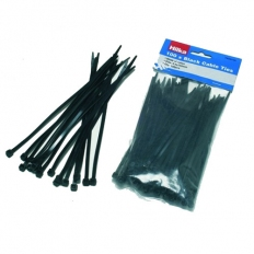 Hilka 79200150 Cable Ties Black 3.6 x 150mm Pack of 100