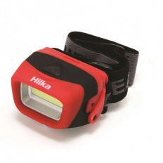 Hilka 82011120 Headlamp with Batteries 3 Watt COB 120 Lumens