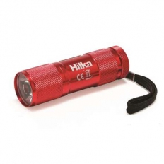 Hilka 82020920 LED Aluminium Mini Torch 1 Watt 60 Lumens