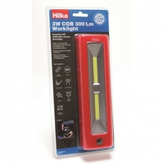 Hilka 82040300 Worklight with Batteries 3 Watt COB 300 Lumens