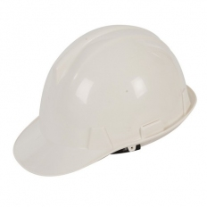 Silverline 868532 Safety Hard Hat White