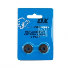 OX P560302 Pro Replacement Cutting Wheel for Adjustable Pipe Cutter - Pack 2