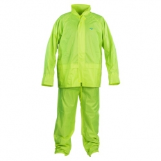 OX S249802 Rain Suit with Concealed Hood Yellow Medium