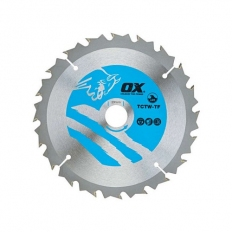 OX TCTW-TF-1361020 Wood Cutting Thin Circular Saw Blade 136/10mm 20 Teeth ATB