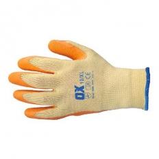 OX S241608 Latex Grab and Grip Glove Size 8 Medium
