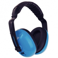 OX S241901 Premium Ear Defenders With Padded Headband SNR 27db