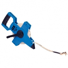 OX T023503 Trade Open Frame Long Measuring Surveyers Tape 30 Metre 100Ft