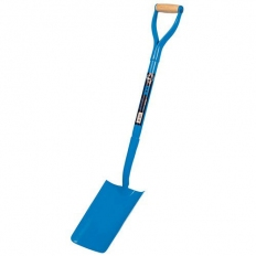 OX T280401 Trade All Steel Trenching Shovel Solid Forged