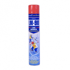 Action Can 1891 LM90 Line Marking Spray Paint Red 750ml Aerosol