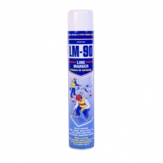 Action Can 1745 LM90 Line Marking Spray Paint White 750ml Aerosol