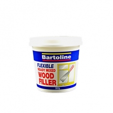 Bartoline 52720230 Flexible Wood Filler White 500g Tub