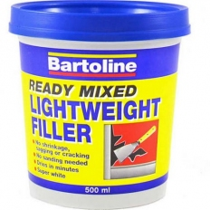 Bartoline 52740500 Ready Mixed Lightweight Filler 500ml