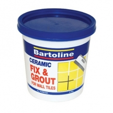 Bartoline 52850120 Fix and Grout Tile Adhesive 330g Squeezy Tube