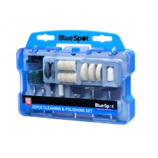BlueSpot 19013 20 Piece Rotary Tool Cleaning and Polishing Set