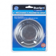 """BlueSpot 07648 100mm (4"""") Stainless Steel Magnetic Dish"""