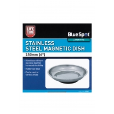 """BlueSpot 07649 150mm (6"""") Stainless Steel Magnetic Dish"""