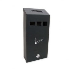 Sterling CIG1BK Cigarette Bin Black
