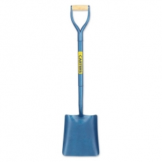 Carters 2SSSMY Solid Socket Square Mouth All Steel Shovel