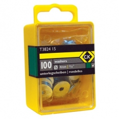 """CK T3824 12 Washers 1/8"""" Box Of 100"""