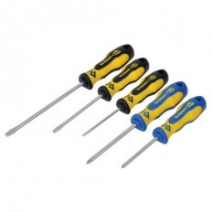 CK T4727 Triton XLS Screwdriver 5 Piece Set Slotted flared Parallel Pozi