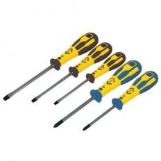CK T49153 Dextro Screwdriver Set Of 5 Slotted & Pozi In Case