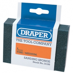 Draper 10106 Fine - Medium Grit Flexible Sanding Sponge