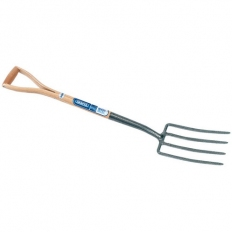 Draper 14301 Carbon Steel Garden Fork with Ash Handle
