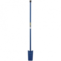 Draper 21301 Long Handled Solid Forged Fencing Spade