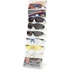 Draper 23341 Countertop Display of Six Safety Spectacles