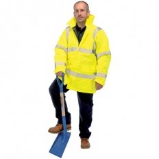Draper 84720 High Visibility Traffic Jacket - Size M