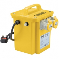 Draper 31264 3.3kVA 230V to 110V Portable Site Transformer