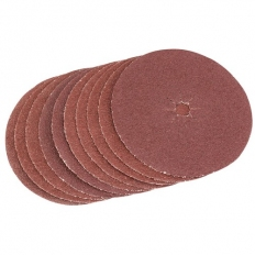 Draper 35708 125mm Medium Grade Aluminium Oxide Sanding Discs (Pack of 5)