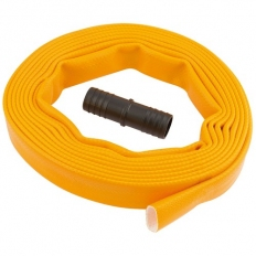 Draper 36990 Layflat Hose, supplied with Adaptor (5M x 25mm)