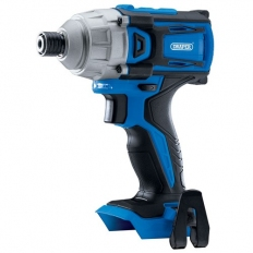 "Draper 55375 D20 20V Brushless 1/4"" Impact Driver - Bare (180Nm)"