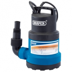 Draper 61668 125L/Min Submersible Water Pump with Float Switch (350W)