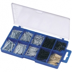 Draper 69042 485 Piece Nail and Pin Assortment