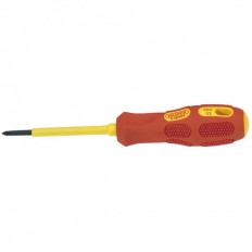 Draper 69224 Expert No.0 X 60mm Fully Insulated Cross Slot Screwdriver (Sold Loose)