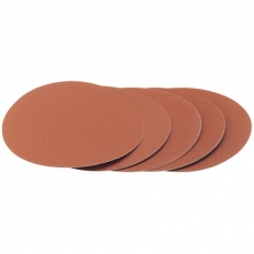 Draper 72230 Five 80 Grit Hook and Eye Backed Aluminium Oxide (230mm)