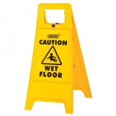 Draper 82134 Wet Floor Warning Sign