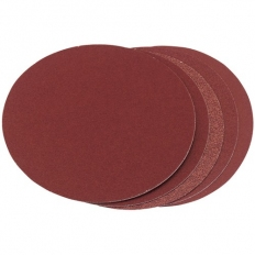 Draper 83860 Five Assorted Grit Aluminium Oxide Sanding Discs (150mm)